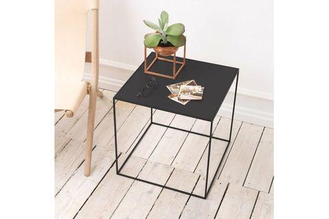 Dekopratik Vetch  Metal Side Table, Black