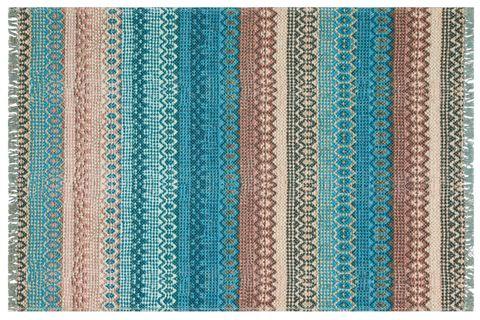 MARİNE MR 04 BLUE ÇİFT TARAFLI BASKI KİLİM 155X230