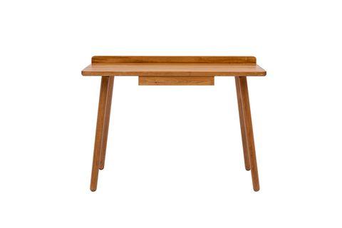 Novak Working Desk, Light wood