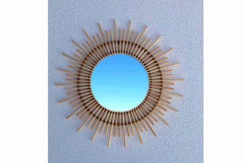 Anna Rattan Mirror (Large)