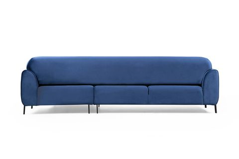 Cloud Corner Chaise Sofa Bed, Right, Blue