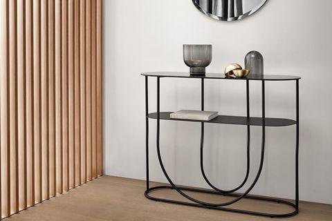 Sohomanje Console Table, 120 cm, Black