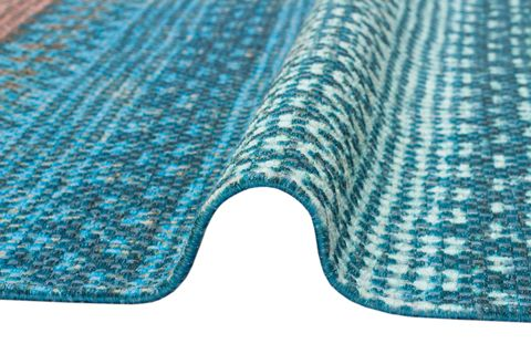 MARİNE MR 04 BLUE ÇİFT TARAFLI BASKI KİLİM 80x150