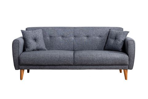 Aria Three Seater Sofa Bed, Anthracite Grey