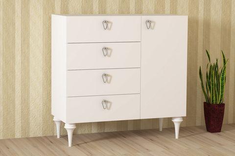 Merisa Chest Of Drawers, White