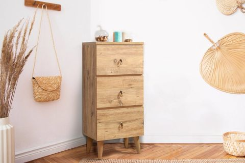 Motto Chest of Drawers, Natural