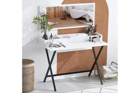 Sera Sim Dressing Table, White