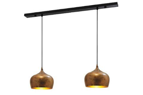 Signy 2-Light Chandelier, Copper