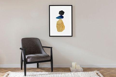 Balanced Art Print with Frame