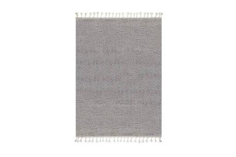 Marrakesh Shaggy Rug, Grey (Medium)