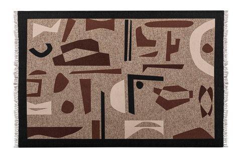 Mia Rug Natural, 150 x 230, Multi & Black