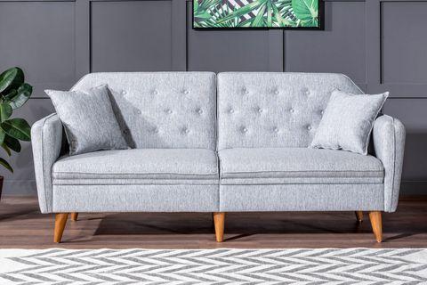 Terra Three Seater Sofa Bed, Grey