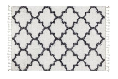 Marrakesh Scandi Rug, White (Small)