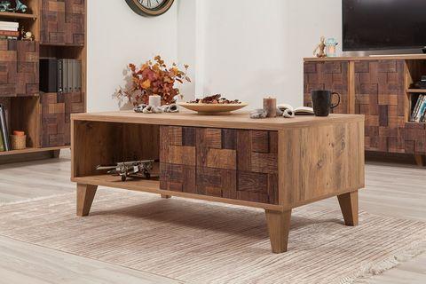 Lydia Coffee Table, Walnut