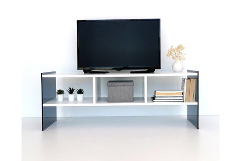 Neostyle Major TV Stand, White, 122 cm