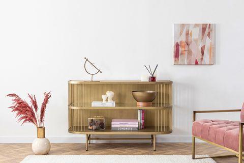 Leila Sideboard, Brass