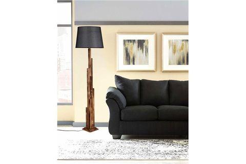 Tower Floor Lamp, Grey