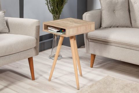 City Top Side Table, Natural