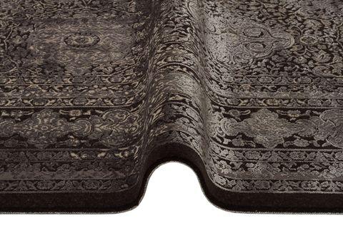 ANADOLU AD 02 ANTRASİT GRİ KLASİK DESENLİ SALON HALISI 160x230