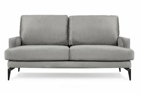 Matilda Two Seater Sofa, Dark Grey