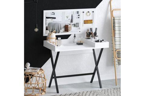 Sera Jan Dressing Table (White)