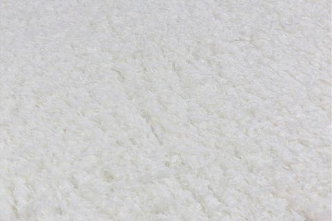 Marrakesh Shaggy Rug, White (Large)