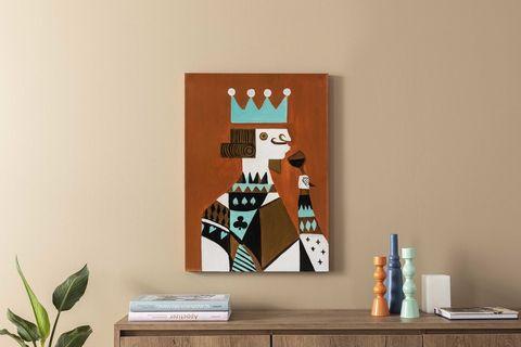 King of the Deck Art Print