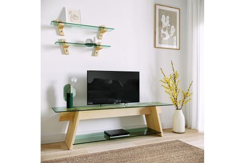 Neostyle TV Stand, Maple Wood, 160 cm