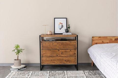 Matis Dresser, Dark Wood & Black