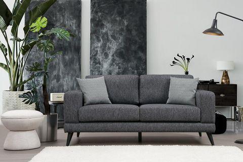 Sorti Two Seater Sofa, Grey