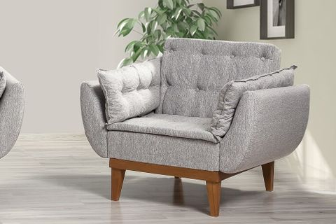 Moby Armchair, Grey