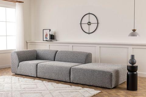 Alpha Modular Sofa (Small), Light Grey