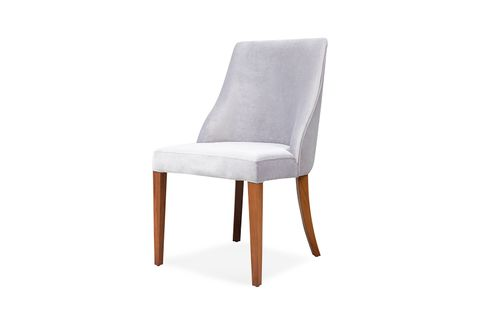 Bugatti Dining Chairs, Set of Two, Grey
