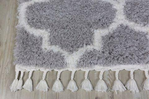 Marrakesh Scandi Rug, Grey (Medium)