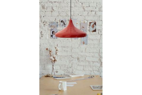 Bailey Pendant, Red