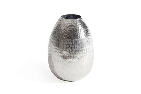 Mia Nickel Vase, Medium