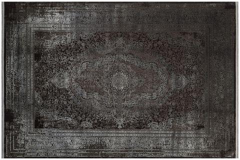 ANADOLU AD 01 ANTRASİT GRİ KLASİK DESENLİ SALON HALISI 100X300