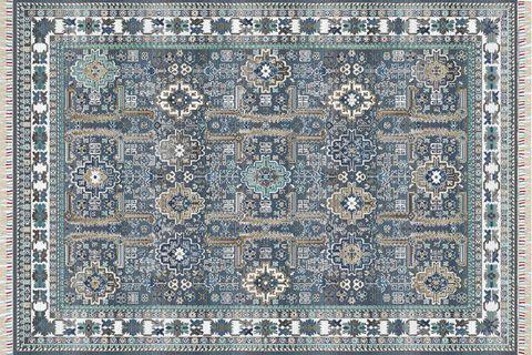 PARMA PRM 07 BLUE ETNİK YIKANABİLİR HALI 120x180