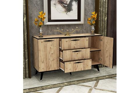 Almata Chest Of Drawers, Light Wood