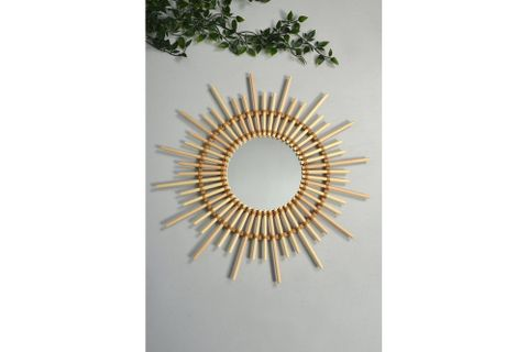 Anna Rattan Mirror (Medium)