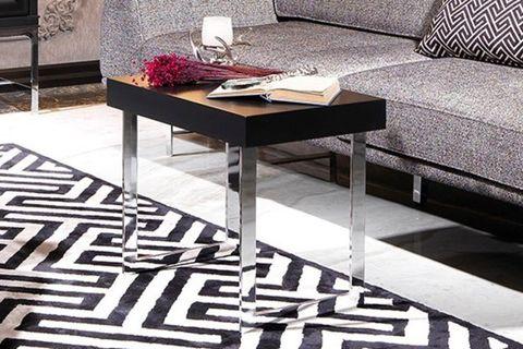 Nepal Side Table, Black