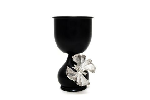Butterfly Candle Holder, Silver (Small)