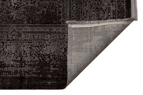 ANADOLU AD 01 ANTRASİT GRİ KLASİK DESENLİ SALON HALISI 240x340