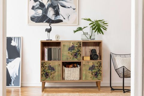 Motto Console, Forest Green