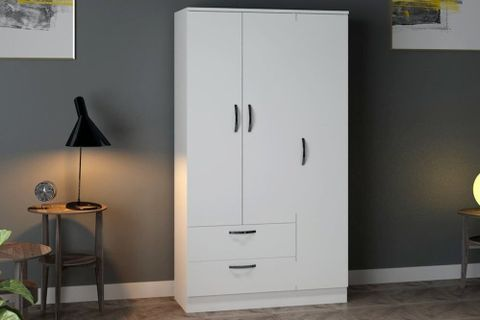 Bertus Three Door Two Drawer Wardrobe
