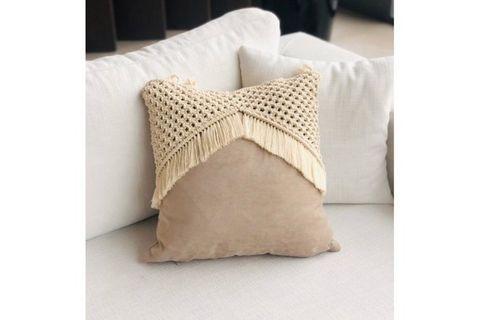 Macrame Cami Cushion Cover
