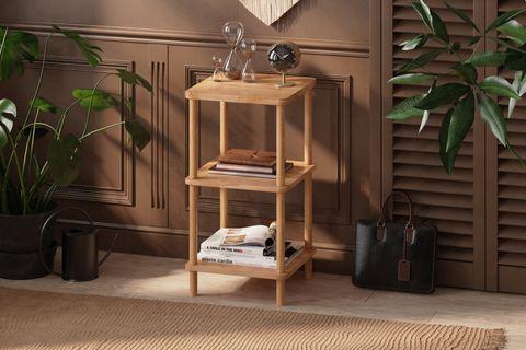 Maya Short Bookcase