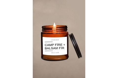 LYN HOME BALSAM FİR AMBER B KAVANOZ MUM 9OZ