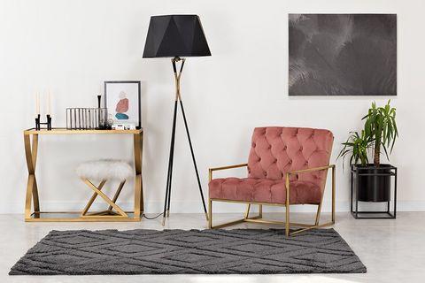 Hexa Floor Lamp, Black