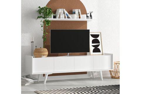 Sera Suki Tv Unit (White)